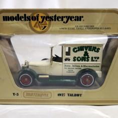 1927 Talbot - Matchbox