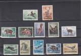 ROMANIA 1956  LP 404   VANATOAREA   SERIE   DANTELATA   MNH