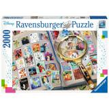 Puzzle timbre Disney 2000 piese, Ravensburger