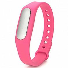 Bratara fitness iUni Mi1, Bluetooth, Activity and Sleep, Roz