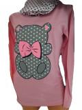 Cumpara ieftin Pijama dama cu maneca lunga si pantaloni lungi '' Bear'' cod 817
