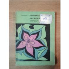PLANTE FLORICOLE PERENE DE PARCURI SI GRADINI DE I. ROVENTA