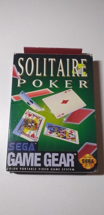 Joc SEGA Game Gear Solitaire