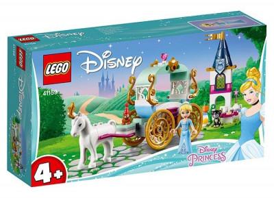 LEGO Disney Princess - Calatoria Cenusaresei cu trasura 41159 foto
