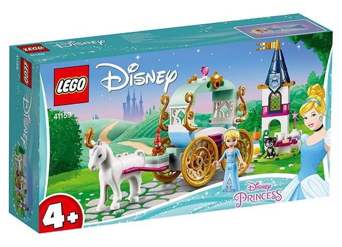 LEGO Disney Princess - Calatoria Cenusaresei cu trasura 41159