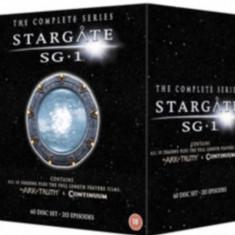 Film Serial SF Stargate SG-1 DVD BoxSet Complete Collection ( Original )