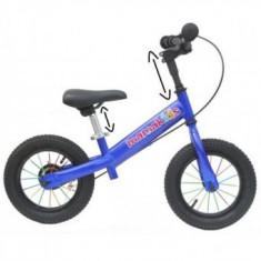 Bicicleta fara pedale 12 inch Explorer Mamakids Blue
