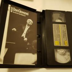 [VHS] Mozart - Don Giovanni - Wilhelm Furtwangler - caseta video originala
