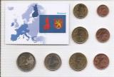 Finlanda Set 8B - 1, 2, 5, 10, 20, 50 euro cent, 1, 2 euro 2008 - UNC !!!