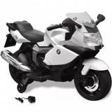 Motocicletă electrică pentru copii BMW 283, 6V, alb, vidaXL