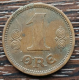 (M79) MONEDA DANEMARCA - 1 ORE 1921