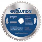 Cumpara ieftin Disc pentru fierastrau circular, taiere otel Evolution EVOEVOBLADE230-0453, O230 x 25.4 mm, 48 dinti