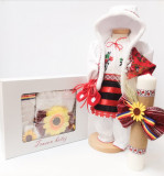 Cumpara ieftin Set Traditional Botez - Costumas fetita Trusou Lumanare 5