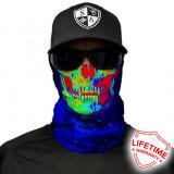 Bandana/Face Shield/Cagula/Esarfa - Galactic Skull, SA Co. original