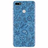 Husa silicon pentru Huawei Y6 Pro 2017, Bacteria