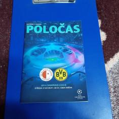 program   Slavia  Praga   -  Borussia  Dortmund