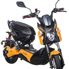 Moped, scuter electric, necesita inmatriculare ZT-21 EEC X RIDE ORANGE