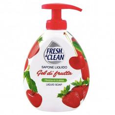 Sapun Lichid - Gel de fructe - Cirese si capsune 300 ml