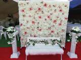 Panou floral alb photocorner