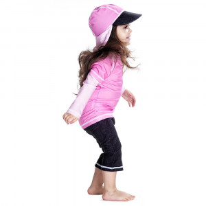 Costum de baie Pink Ocean marime 86- 92 protectie UV Swimpy for Your BabyKids