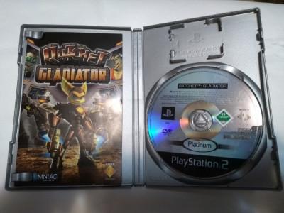 [PS2] Ratchet - Gladiator - Platinum - joc original Playstation 2 foto