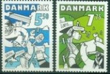 Danemarca 2008 - Europa 2v.neuzat,perfecta stare(z)