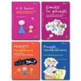 Pachet Parenting 1. Povesti educative terapeutice (4 carti): A fi bunici, Emotii in povesti, Povesti linistitoare, Povesti vindecatoare - Grazia Honeg