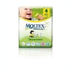 Scutece Eco pentru Bebelusi 7-18kg Nr.4 Maxi Moltex 30buc Cod: BG261899