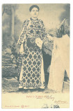 1317 - PRAHOVA, Ethnic woman, Romania - old postcard - used - 1907