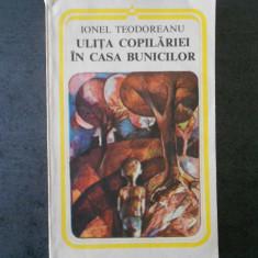IONEL TEODOREANU - ULITA COPILARIEI. IN CASA BUNICILOR