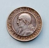 SAN MARINO - 5 Lire 1932 - Argint 5 g, Europa