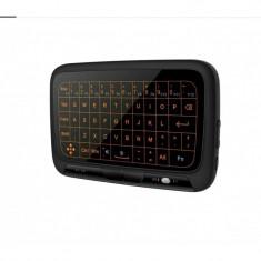 Tastatura Wireless Techstar® H18 Iluminata, Full TouchPad, Mouse