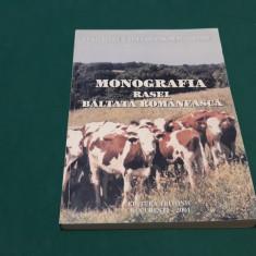 MONOGRAFIA RASEI BĂLȚATĂ ROMÂNESCĂ/ GH. GEROGESCU, C. VELEA/ 2001