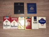 PACHETE DE TIGARI VECHI DE COLECTIE-KENT, MARLBORO, ROTHMANS, JOHN PLAYER, CAMEL