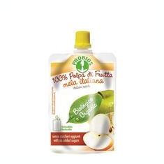 Piure Bio de Fructe fara Zahar - Mere Probios 100gr Cod: 8018699014781