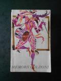 MEMORIILE DOMNULUI GOLDONI