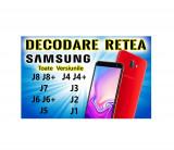 Decodare retea SAMSUNG Galaxy J8 J7 J6 J5 J4 J3 J2 J1 Toate Versiunile SIM Unlock