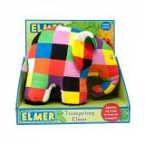 Jucarie de plus interactiva Elefantul Elmer