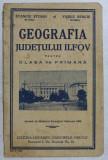GEOGRAFIA JUDETULUI ILFOV PENTRU CLASA A - II - A PRIMARA de STANCIU STOIAN si VASILE NENCIU , 1938
