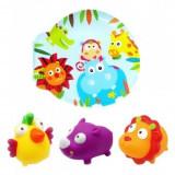 Set carticica si 3 jucarii de baie copii ESCABBO
