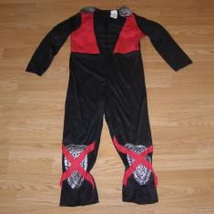 Costum carnaval serbare ninja pentru copii de 6-7 ani, Din imagine