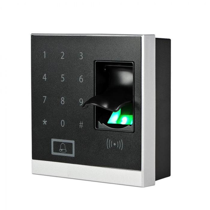 Resigilat : Sistem de acces control biometric PNI Finger 200 cu PIN cititor de amp