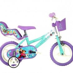 Bicicleta copii 12'' - FROZEN, Dino Bikes