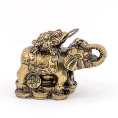 Elefant cu broasca raioasa cu trei picioare – mic