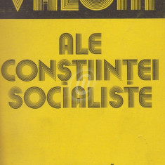 Valori ale constiintei socialiste