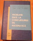 Probleme date la concursurile de matematica de  T. Roman
