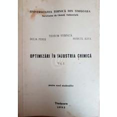 Optimizari in industria chimica, vol. I