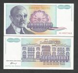 IUGOSLAVIA  500.000.000  500000000  DINARI  1993  UNC [1]  P-134 a , necirculata