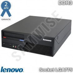 Calculator Incomplet Lenovo M58 DT, LGA775, Intel Q45, DDR3, SATA2