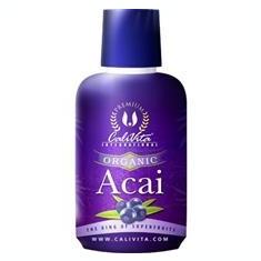 Suc Acai Berry Organic 473ml CaliVita Cod: cv0182